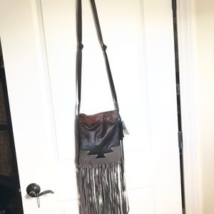 Super cool never used Steve Madden crossbody purse